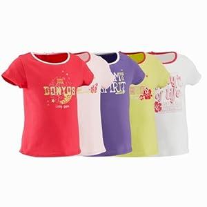 Domyos Girl's Pink Tshirt