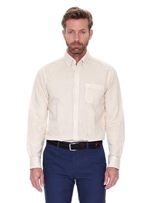 Cortefiel Camisa Lino Ppt (Crudo)