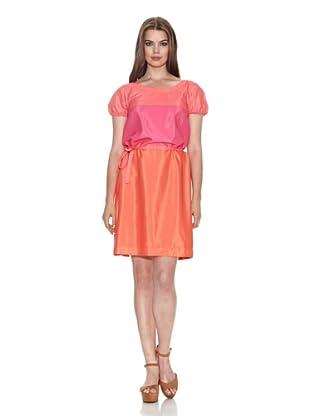 Jackpot Vestito Piolala (Arancione/Rosa)