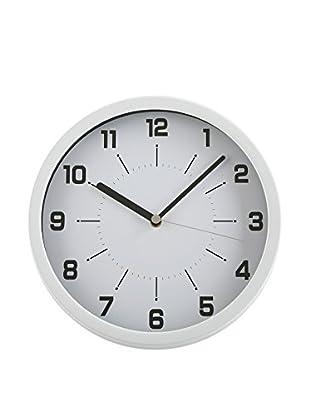Zings Reloj De Pared Blanco