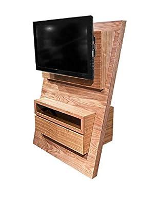 Armen Living Aspen TV Stand, Walnut