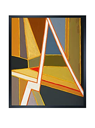 Clive Watts Modernist Abstract Painting Framed Print On Canvas, Multi, 25.5