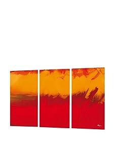 HangTime The Tangerine Triptych Wall Art