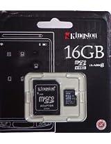 Kingston 16GB Micro SDHC I Class 10 - 1 memory card (SDC10)
