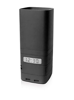 Lexon Minitotem Stackable Storage (Black)