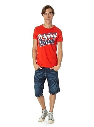 Jack & Jones T-Shirt Nub slim fit (Rojo)
