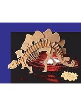 Wooden 3D Stegosaurus Puzzle/Large Dinosaur Puzzle