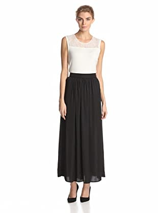 Calvin Klein Women's Airflow Maxi Skirt (Black)