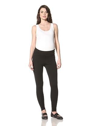 NOM Women's Back Zip Legging (Black)