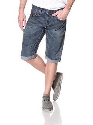 Gilded Age Men's Madison Slim Denim Short (Medium Tinted Aged Wash)