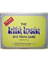 British Invasion 60's Trivia in a Trunk Game