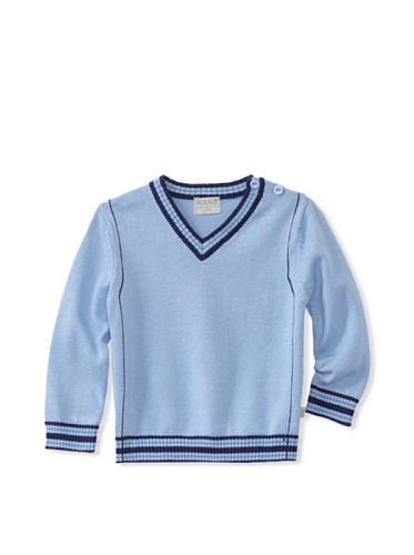 KANZ Baby V-Neck Sweater (Blue)