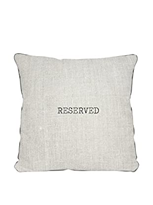 Surdic Kissen Reserved mehrfarbig 45 x 45 cm
