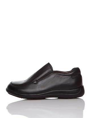 Billowy Zapatos Colegial Elásticos (Negro)