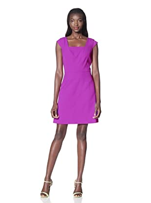 Marc New York Women's Square Neck Dress (Pink)