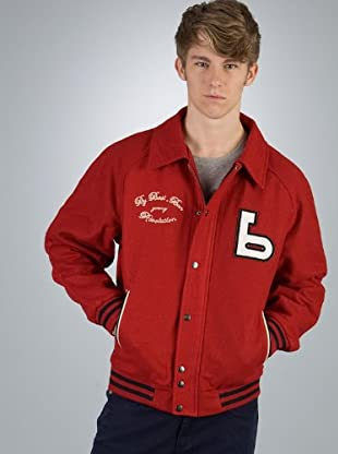 By Basi Chaqueta Sport Parches (Rojo)