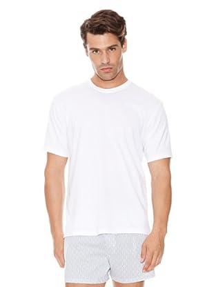 DIM T-Shirt Rundhals 2er Pack (Weiß)