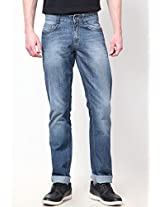 Light Blue Slim Fit Jeans John Players