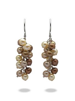 Valero Pearls 60200134 - Pendientes de mujer de plata con perla cultivada de agua dulce