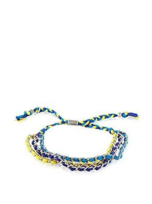 Ettika Canary/Blue/Teal Forever Friendship Bracelet