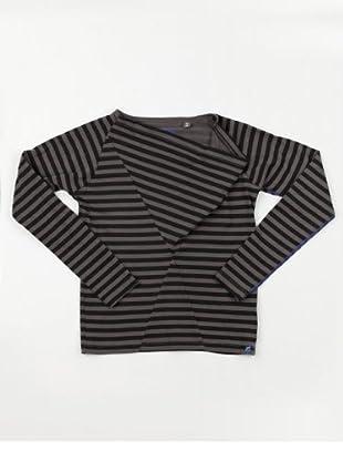 Gsus Kids Shirt Chin Ting Sou (Grau/Schwarz)