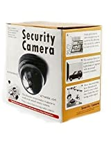 Gadgetbucket Fake Dummy Dome Camera With Motion Detect