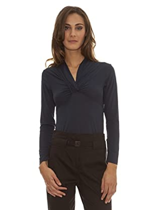 Trussardi Camiseta Trap Trussardi (Azul)