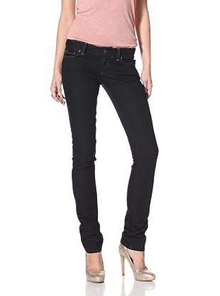 DL 1961 Premium Denim Women's Tory Slim Straight Leg Jeans (black diamond)