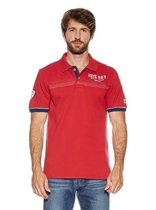 Dolomite Polo Fitz Roy 1Mpl (Rojo Oscuro)