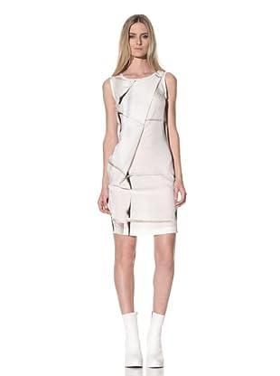 Ann Demeulemeester Women's Draped Front Dress (Off-White)