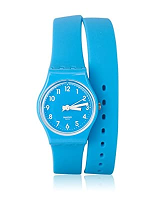 Swatch Quarzuhr Woman LADY CYAN LS112 33.0 mm