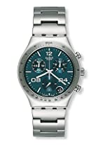 Swatch Silver Steel Chronograph Men Watch ᅵᅵᅵ B959810