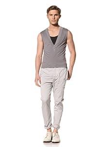 Marc Stone Men's Guevara Vest (Light Gray)