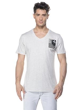 Zu-Elements Camiseta Jason (Blanco/Negro)