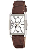 Timex E-Class Analog Silver Dial Men's Watch - TW00RN06H