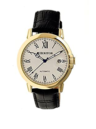 Heritor Automatic Uhr Laudrup Herhr2305 schwarz 43  mm