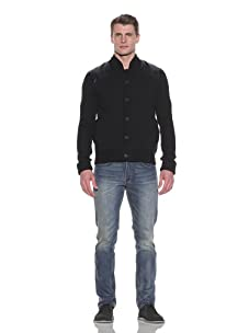 French Connection Men's Freemantle Cardigan (Black)
