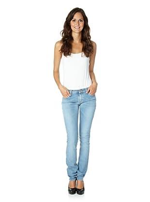 Nudie Jeans Co Jeans Tight Long John Used Light Indigo (Hellblau)