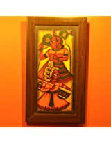 Contemporay Art - Phad paintings - King Sitar Queen (CAPP814KSQ)