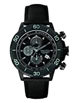 Nautica Chronograph Black Dial Men's Watch - NTA20062G