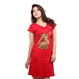 Clifton Women's Long Top Nightwear - Teddy - Wltn01