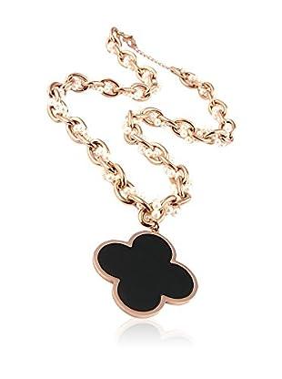 Chamay Halskette  goldfarben/schwarz