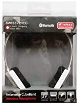Swiss Voice Cube Band Wireless Headset (White)
