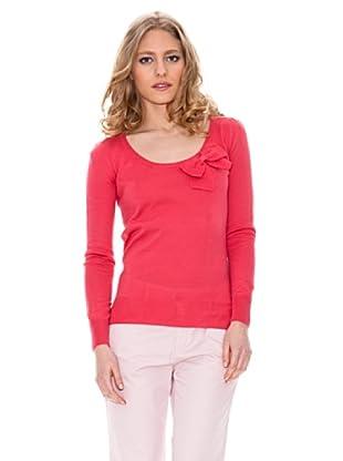 Springfield Jersey Cuello Redondo (Rosa)