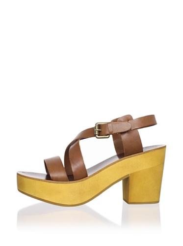 Ash Women's Wonder Platform Sandal (Camel)