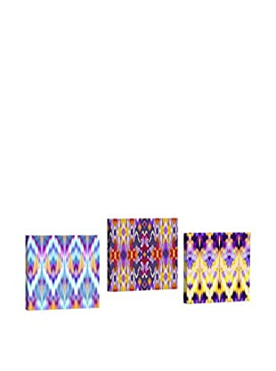 Dekorjinal Set, 3-teilig dekoratives Bild Ahm008 (mehrfarbig)