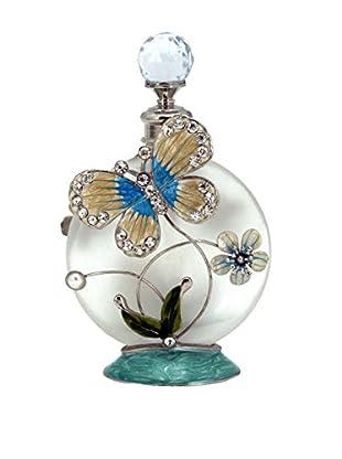 Butterfly Perfume Bottle, Blue