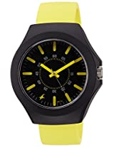Fastrack Tees Analog Black Dial Unisex Watch - 38004PP10J