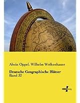 Deutsche Geographische Blätter (Deutsche Geographische Blaetter 1) (German Edition)