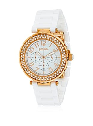 Folli Follie Reloj con movimiento Miyota Woman Beat-Beautime 41 mm
